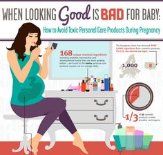 Cosmetic ingredients to avoid when your pregnant